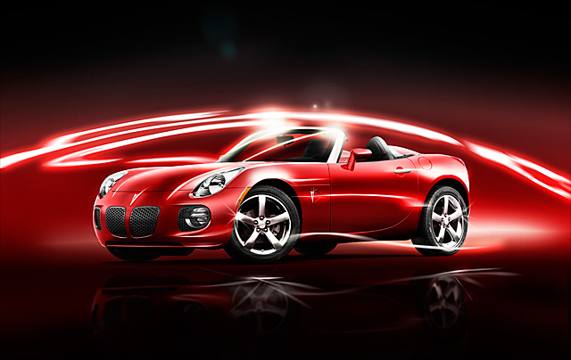 Pontiac Solstice Automotive Photography