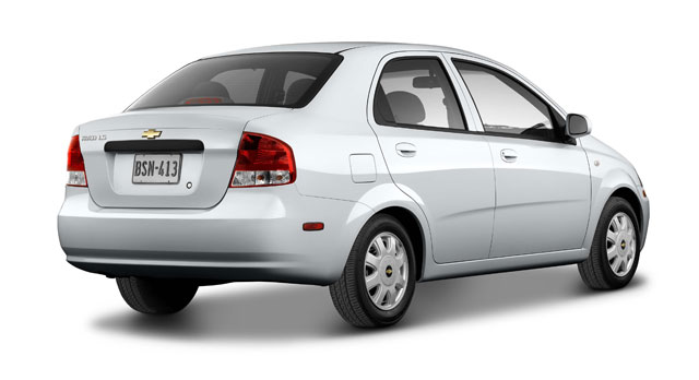2005 Chevy Aveo Photography