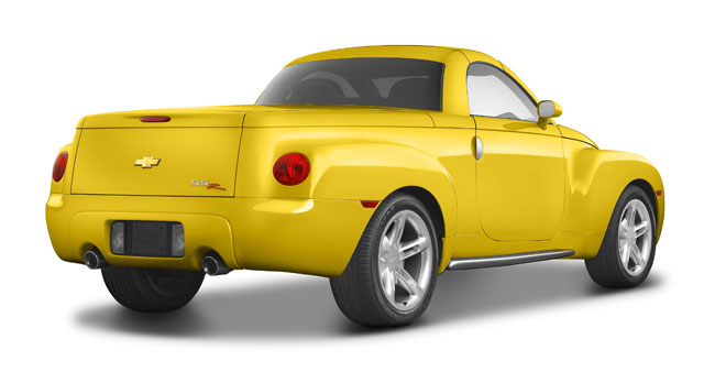 2005 Chevy SSR Photography